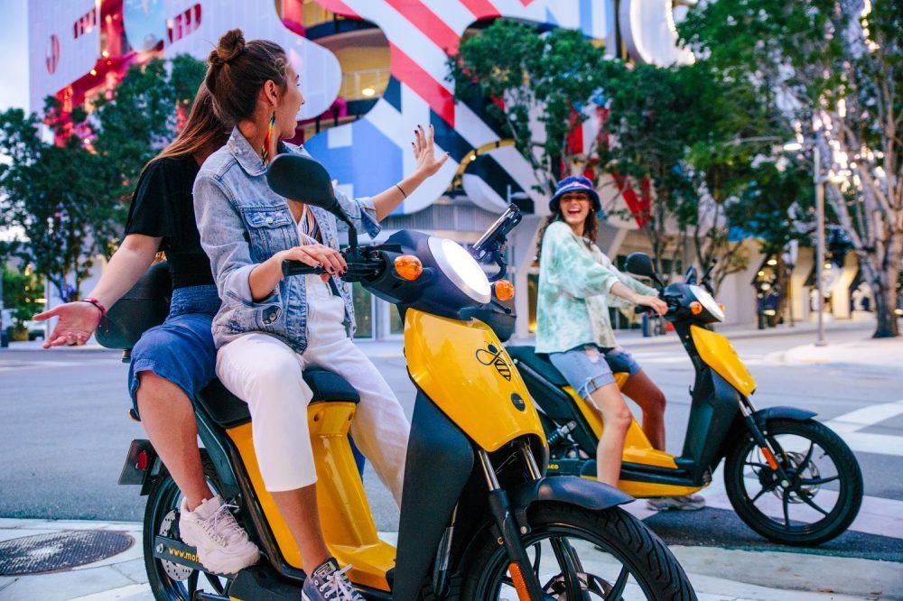 motobee electric moped rental