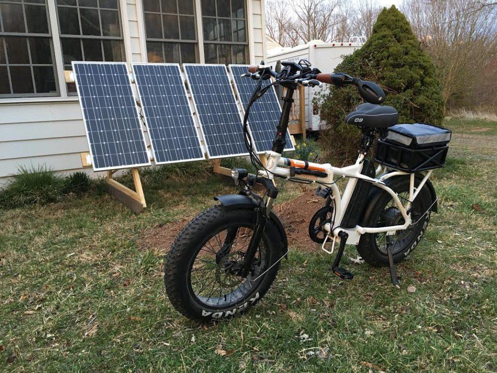 solar ebike charging