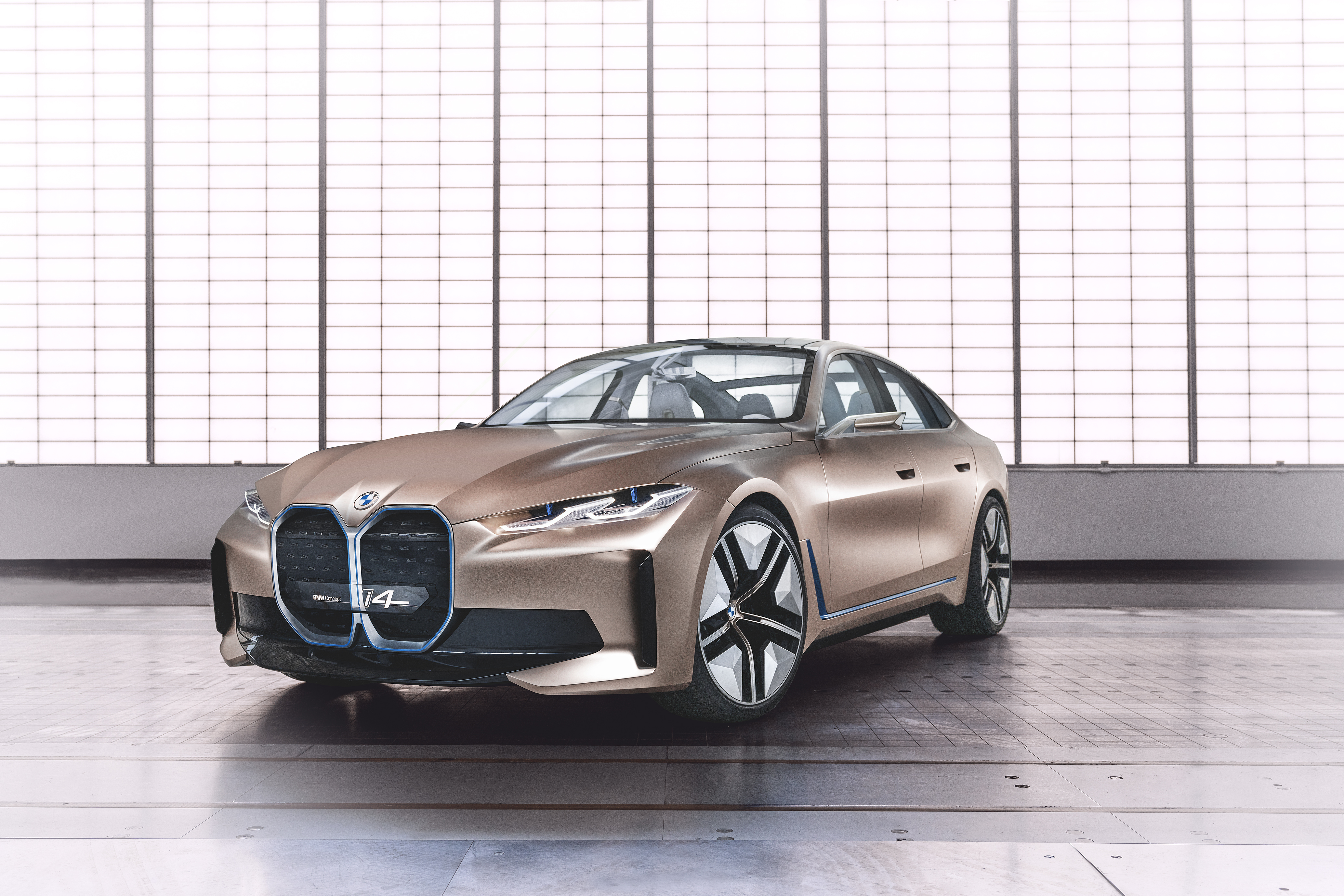 Bmw Unveils I4 Electric Car A Stunning Gran Coupe With A Massive