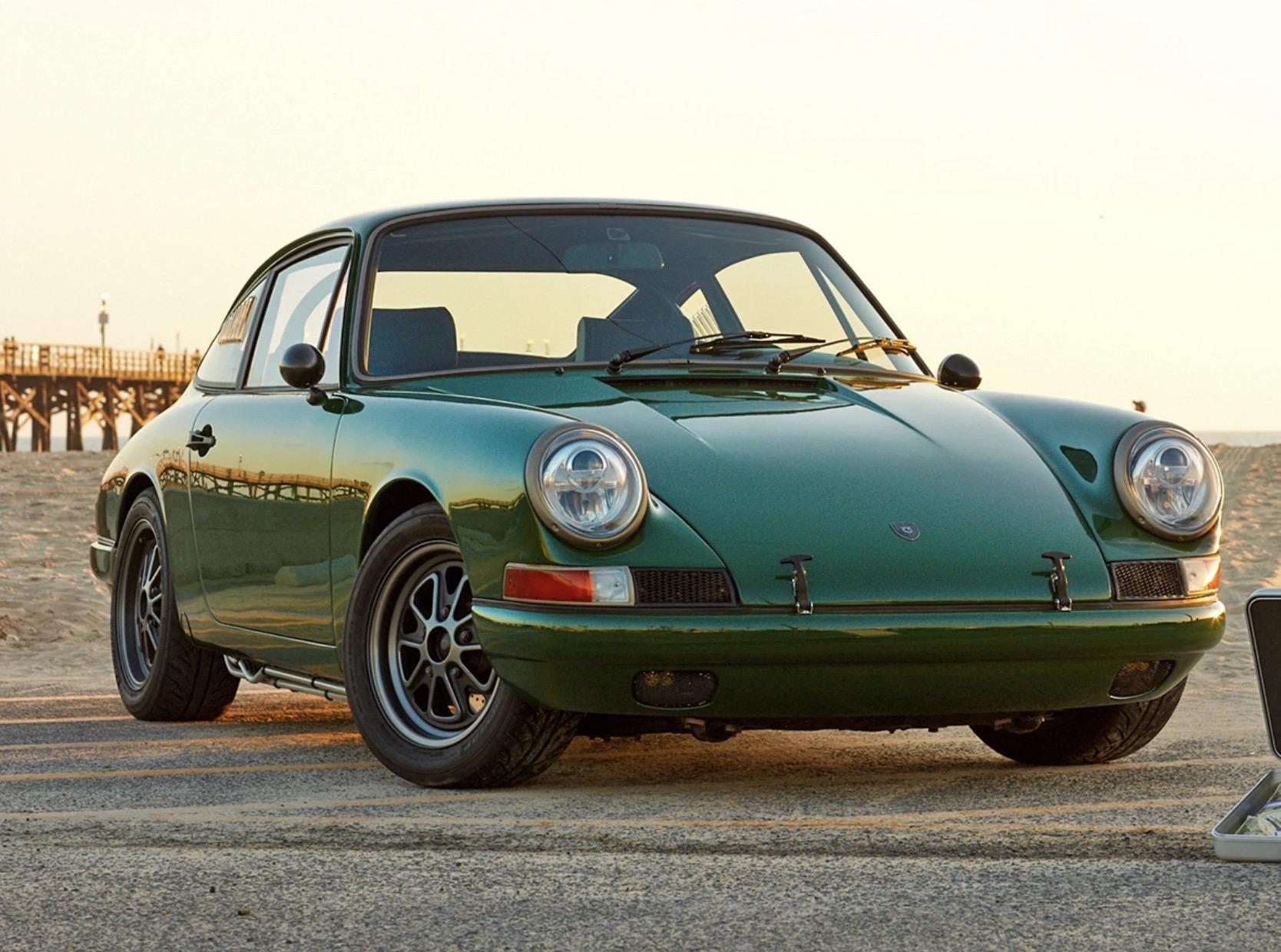 A Stunning Tesla Powered 1968 Porsche 911 Is Up For Grabs Electrek