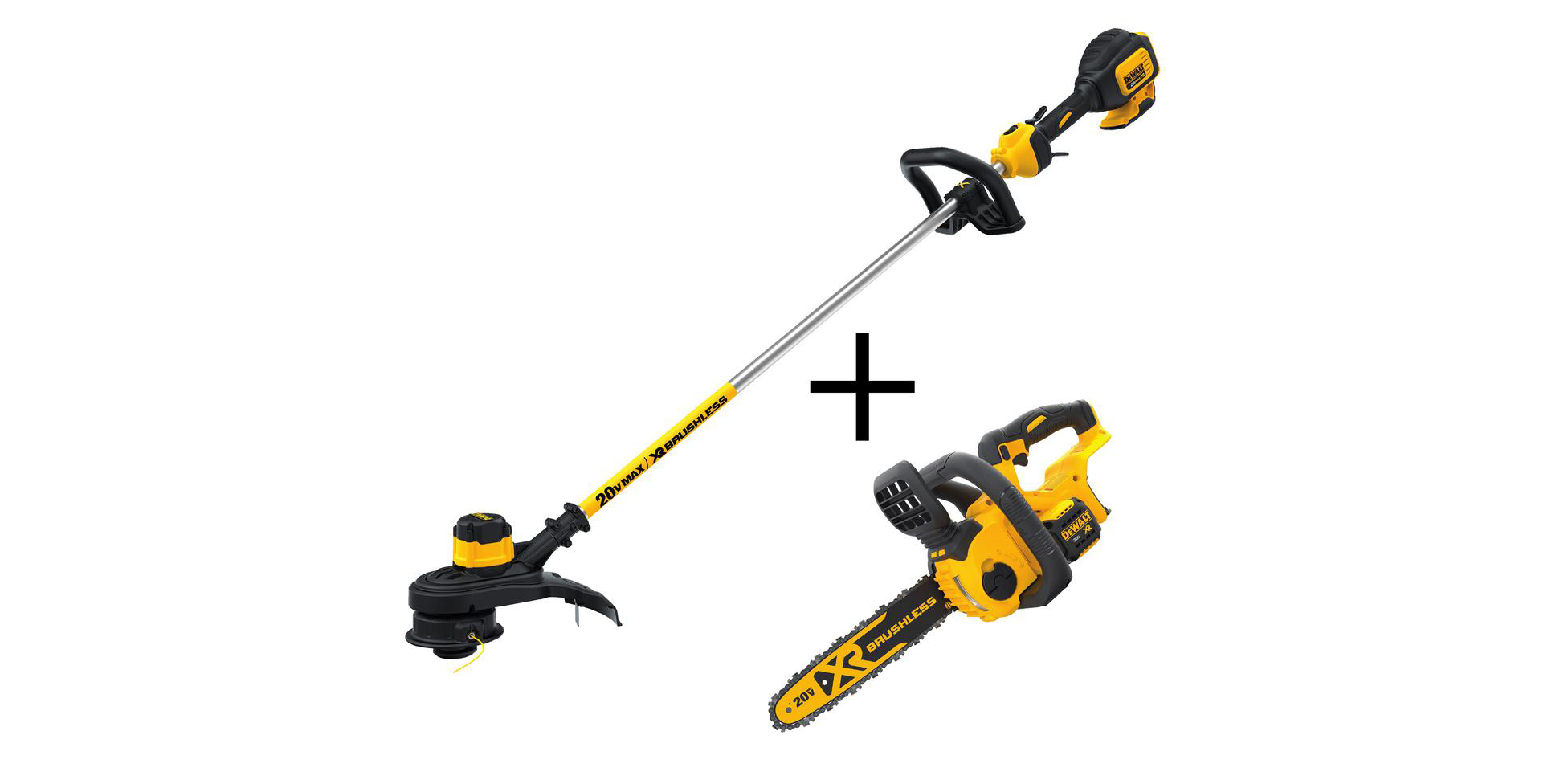 Get DEWALT's top-rated electric Chainsaw and String