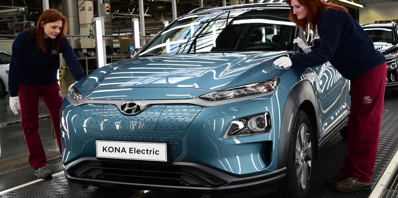 Hyundai Kona Electric in Czech Republic