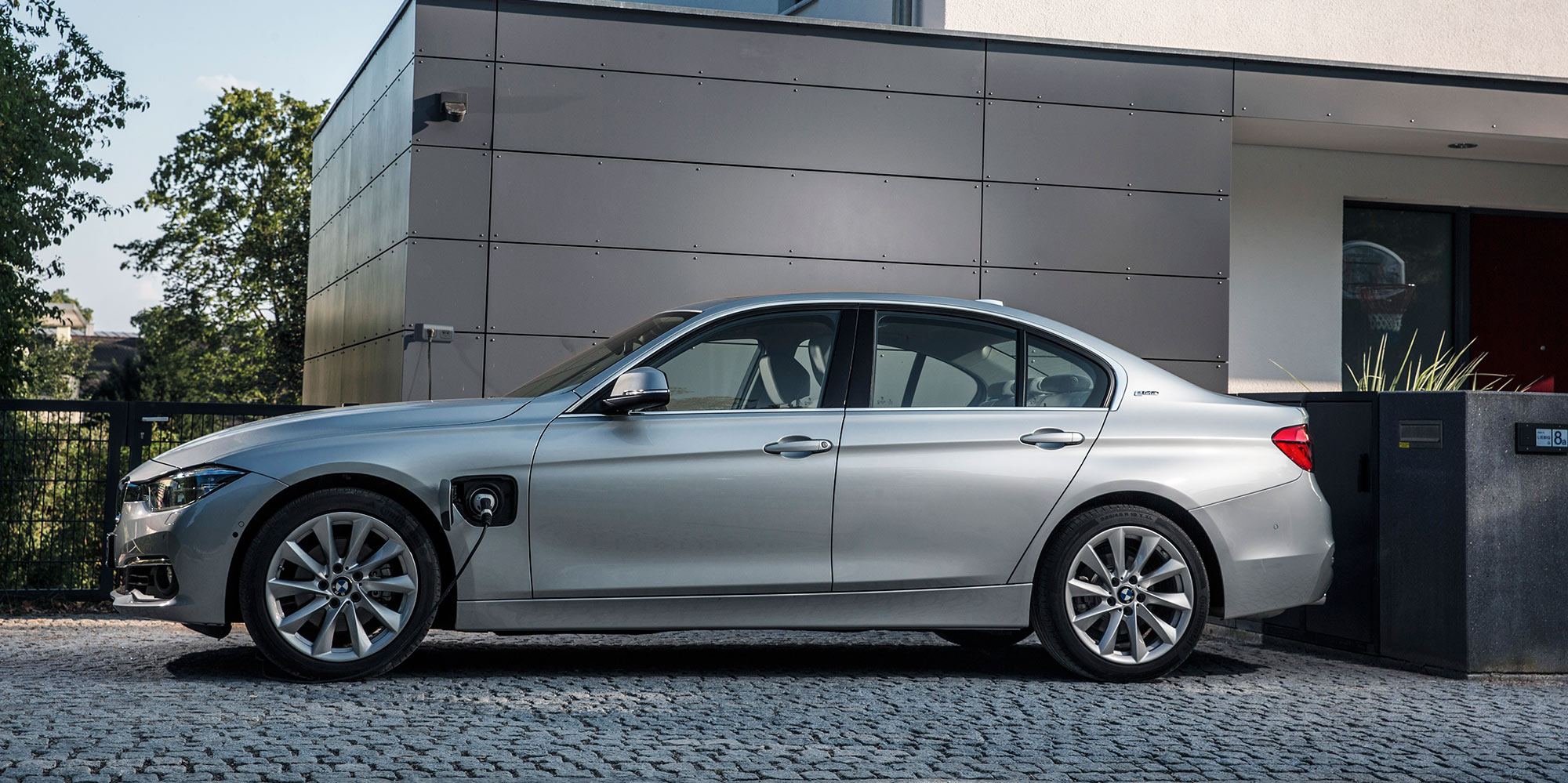 The current plug-in 3-Series but a pure EV is in the works