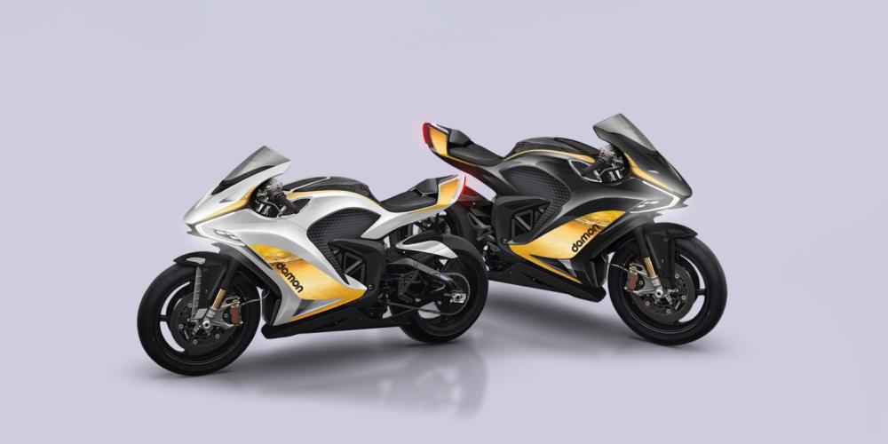 damon motorcycles hypersport