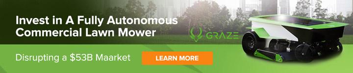 Graze autonomous commercial lawn mower