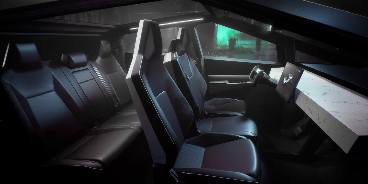Elon Musk Tesla Cybertruck Will End Up Smaller But Retain Most Of Its Large Cabin Electrek