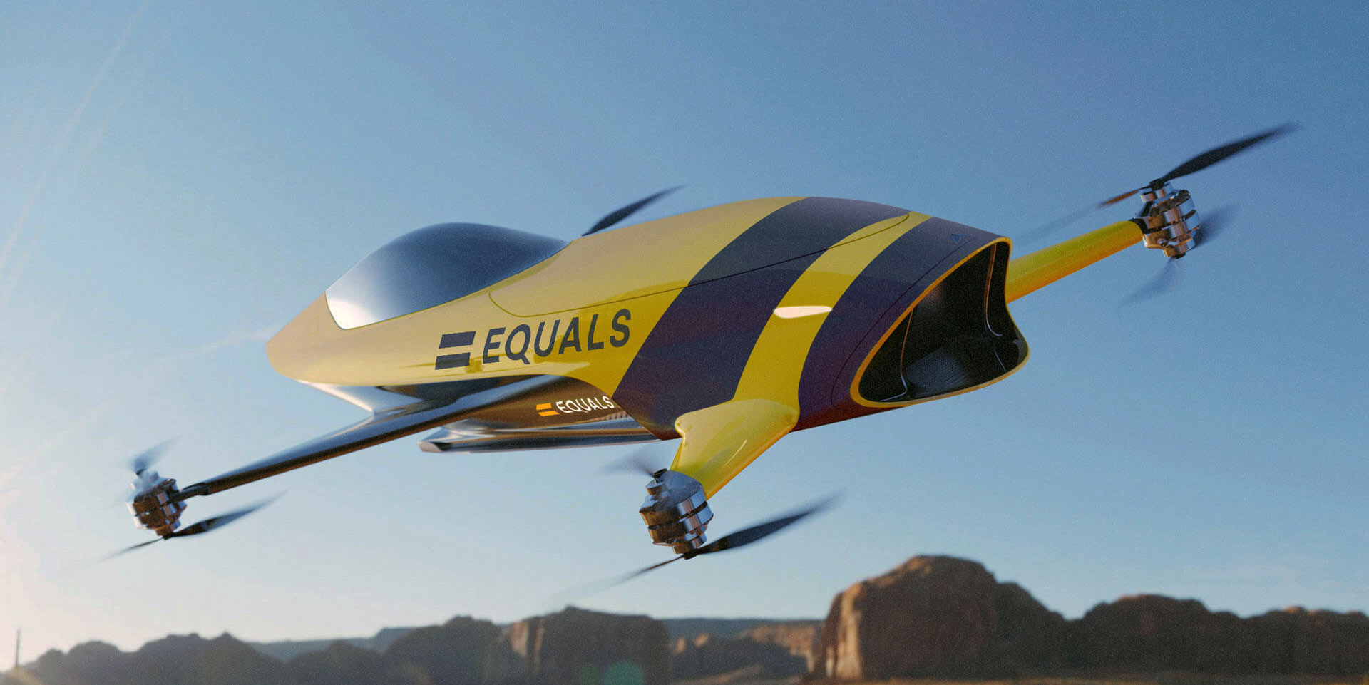 Airspeeder race