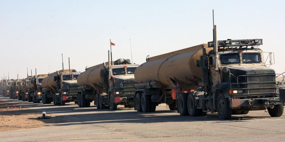 Army tanker trucks