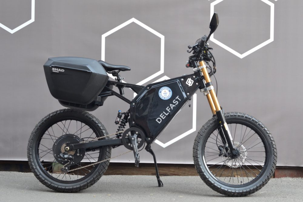 New electric motorcycle Cross Dirt from Delfast