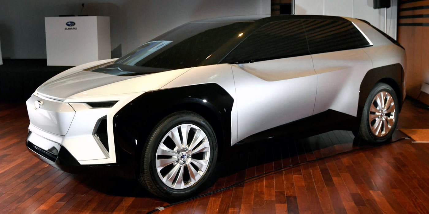 all-electric subaru evoltis  with oddball design  to be unveiled in 2021