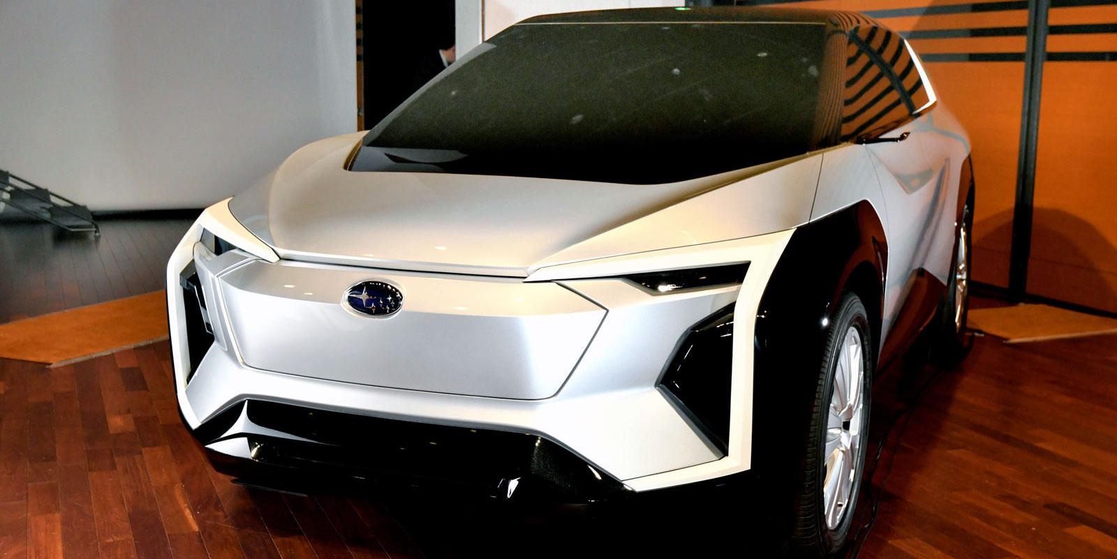 Subaru Evoltis EV