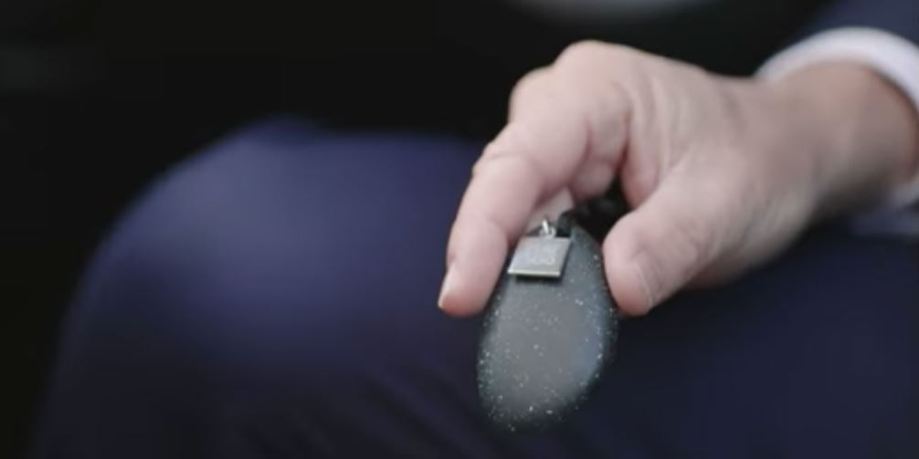 Fiat 500e key fob