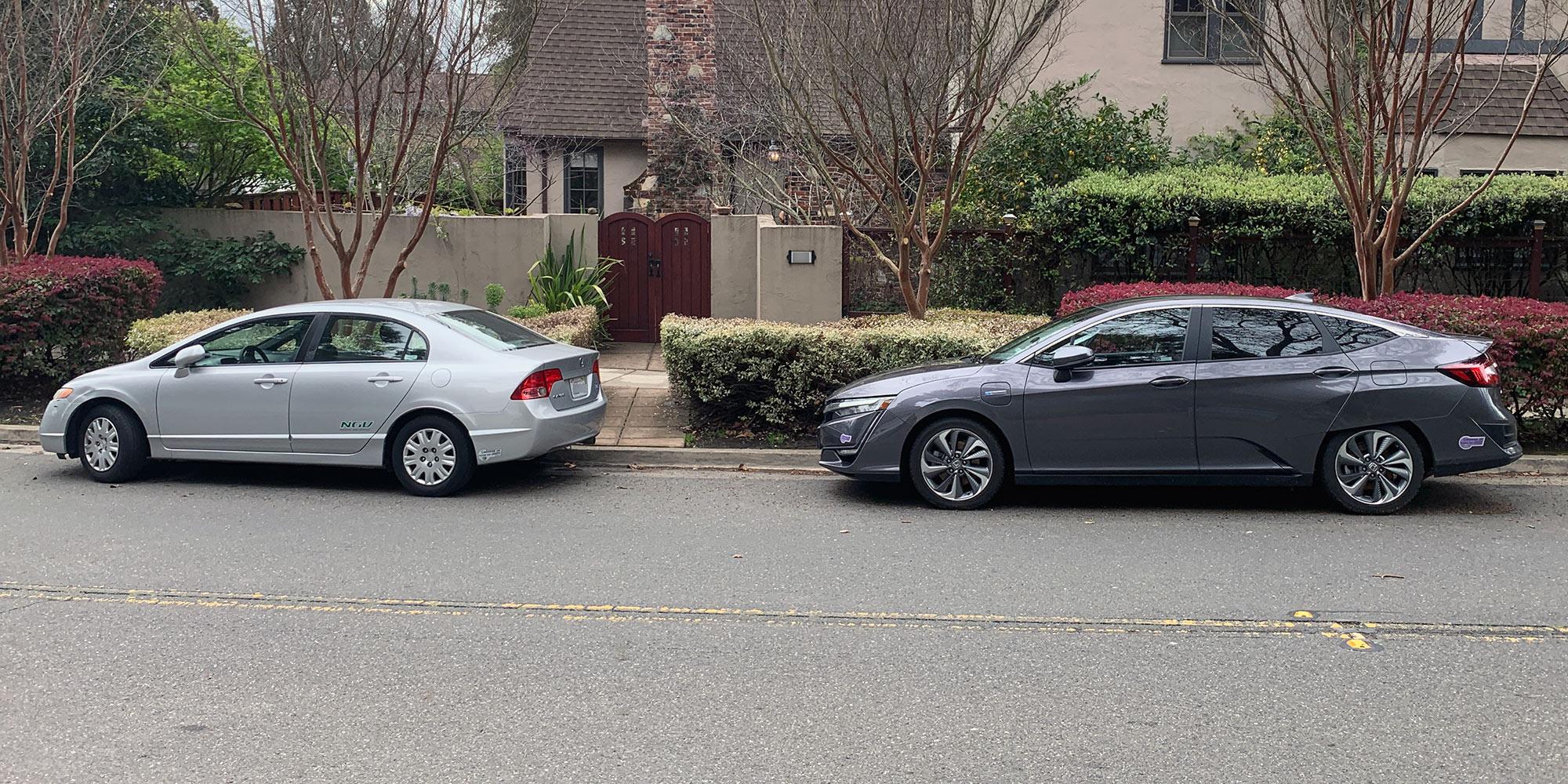 Honda Civic CNG and Honda Clarity PHEV