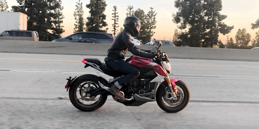 Micah Toll on Zero SR/F Electric Motorcycle