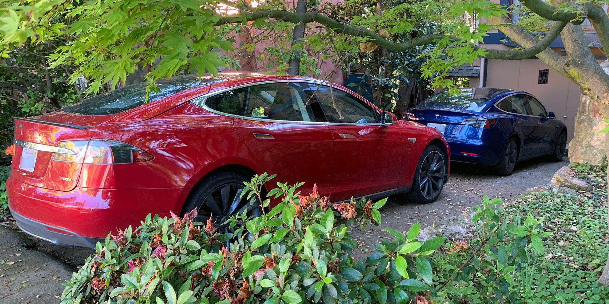 Tesla Model S and Tesla Model 3