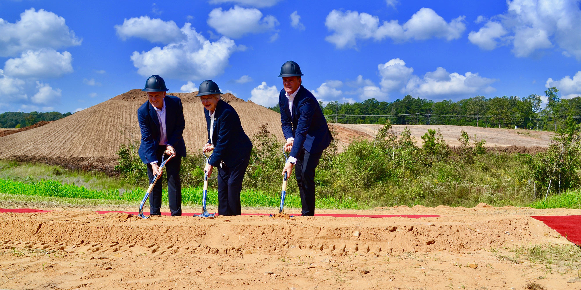 Ground-breaking in Bibb County