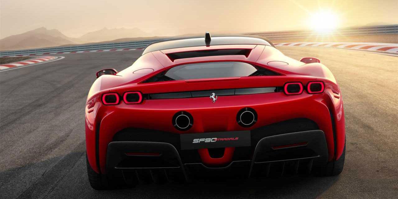 Ferrari SF90 Stradale plug-in hybrid