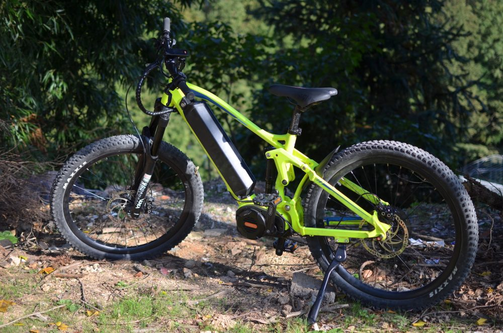 Frey AM1000 electric mountain bike