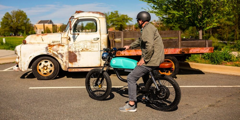 huck cycles electric moped
