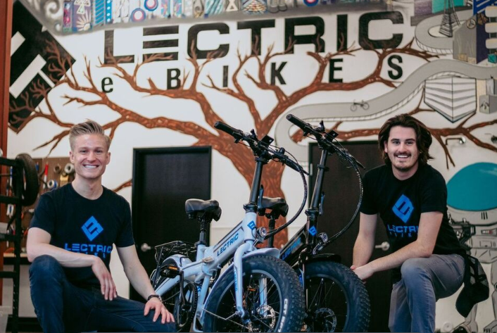 Lectric XP founders