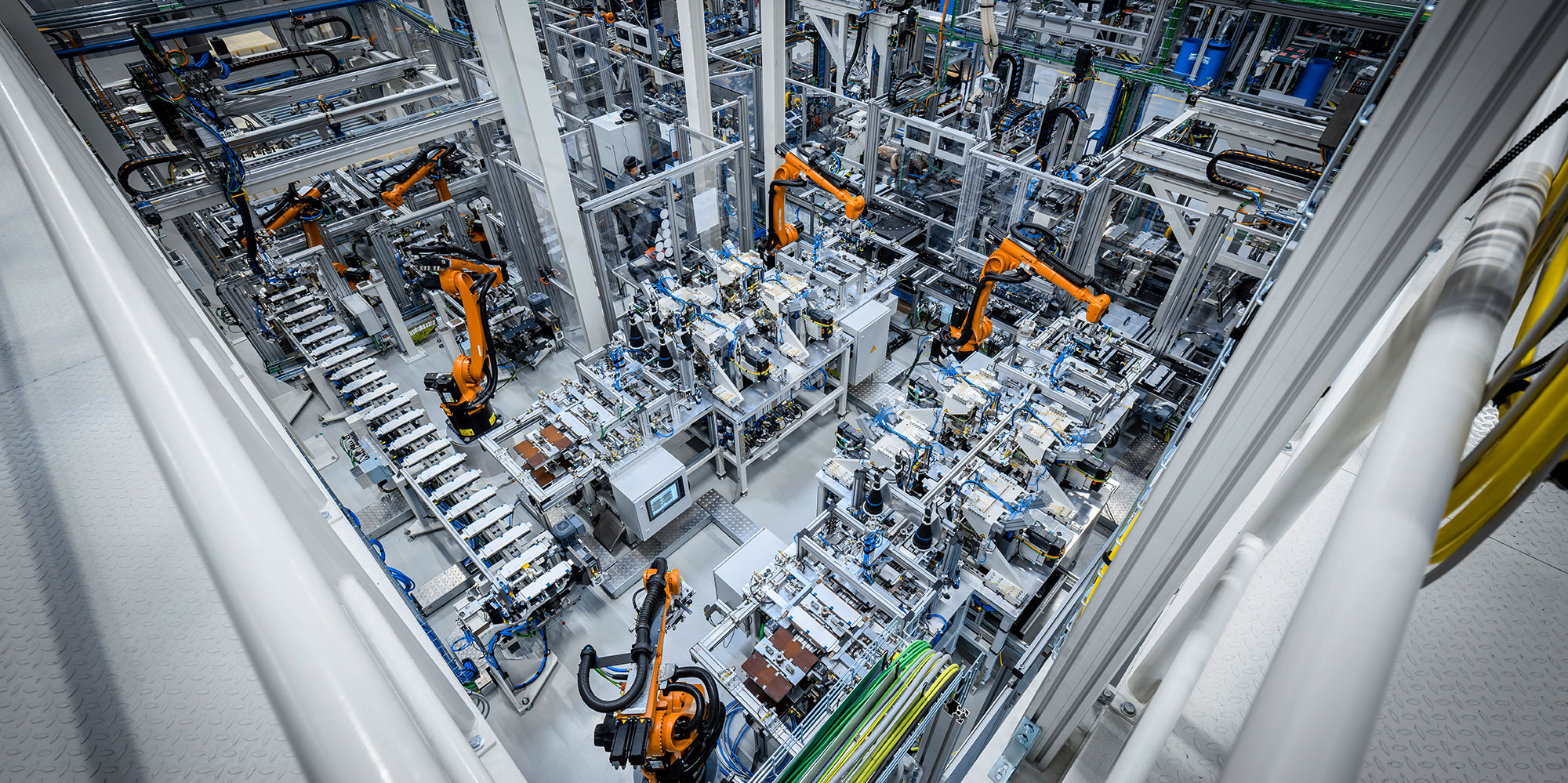 Mercedes-Benz EV battery production in Kamenz