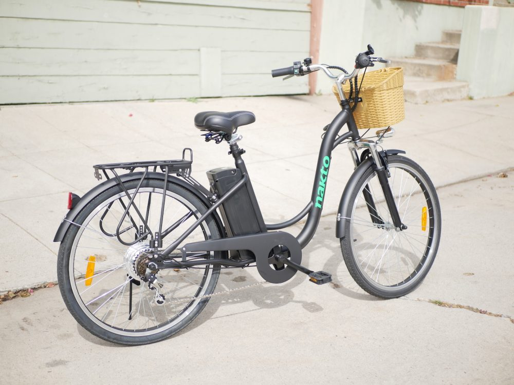 "nakto 26"" electric cargo bike e-bike"