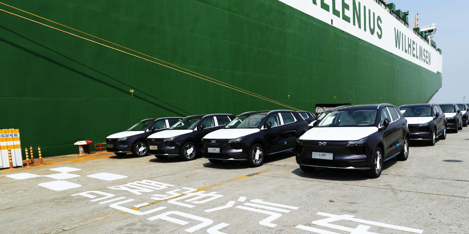 Chinese-import EV flood starts Europe gets 250-mile 28-45k