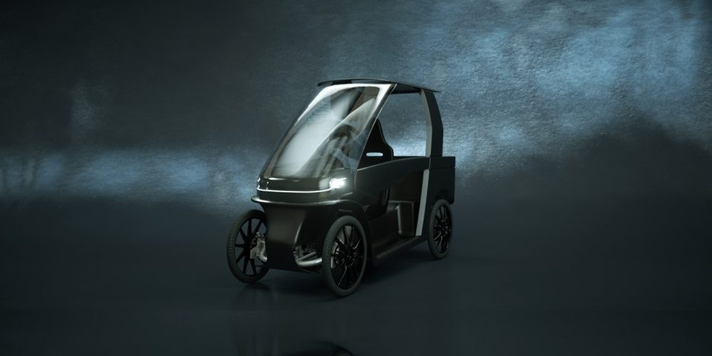 Cityq Car Ebike Fully Enclosed Electric Pedal Car Begins Pre Orders
