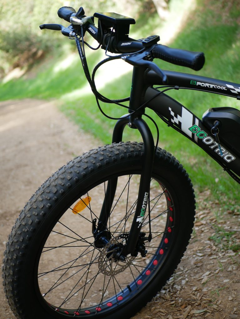 ecotric 500W fat tire e-bike