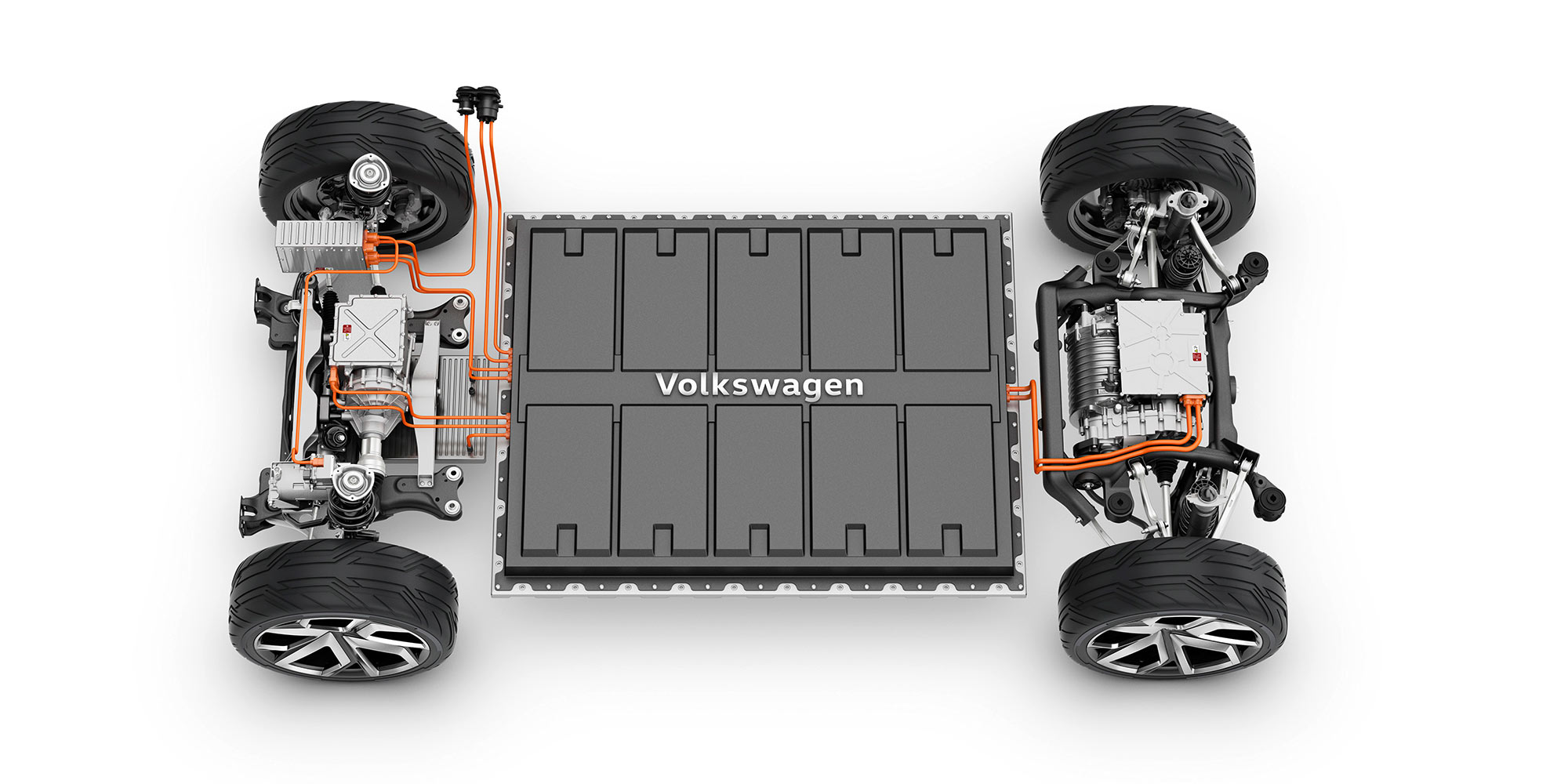 Ford's EVs will be distinct but use VW's underpinnings.
