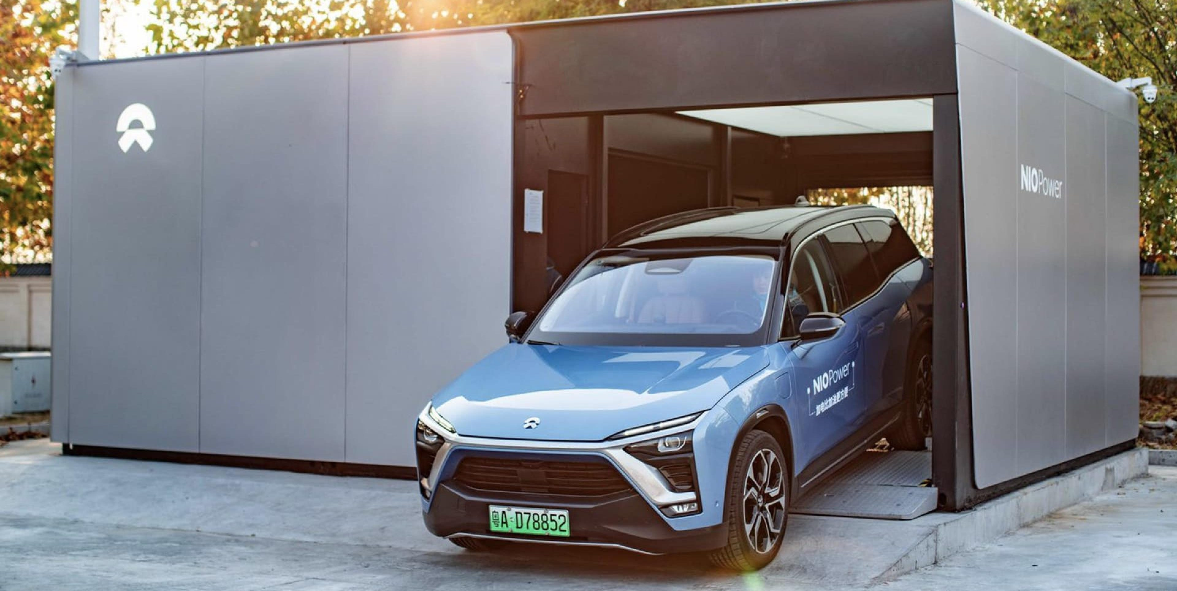 Nio might have figured out battery swap for electric cars as it completes 500,000 swaps Thumbnail