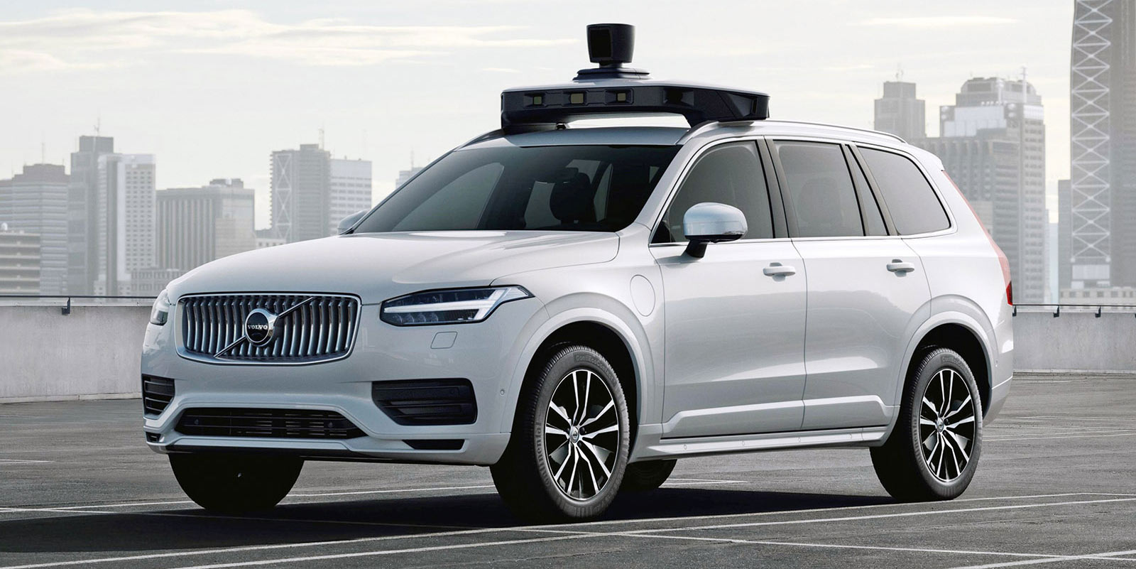 Volvo currently supplies vehicles for Uber's self-driving program