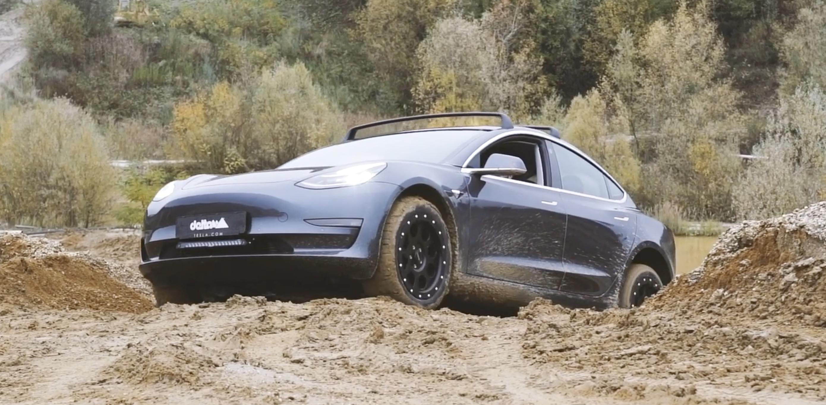 Tesla Model 3 looks like rugged electric off-road machine ...