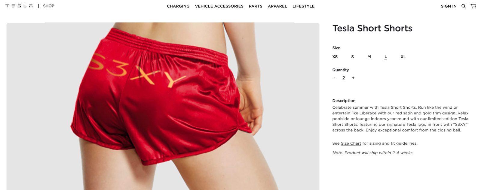 Tesla Shorts
