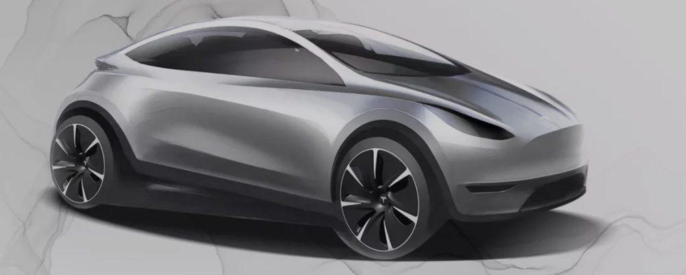 Image result for Tesla's $25,000 Model 2 electric car rendered – Dope or Nope?