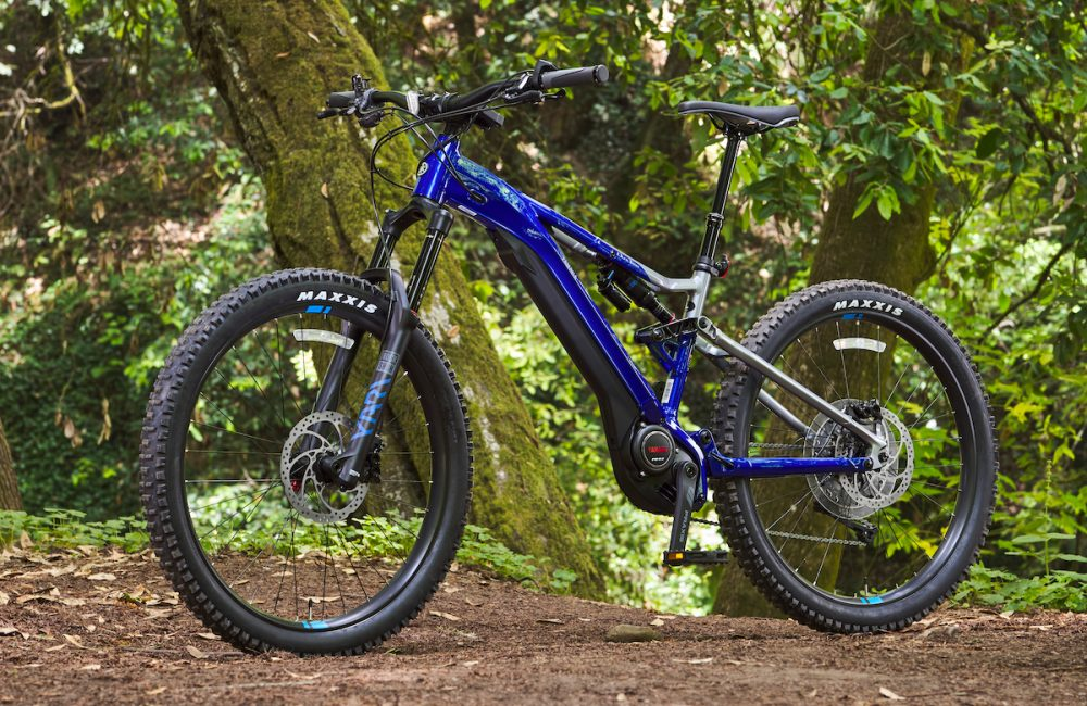 yamaha ydx moro electric bike