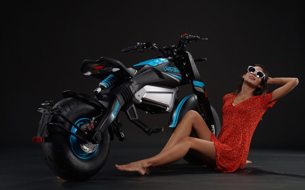 velocifero beach mad electric motorcycle