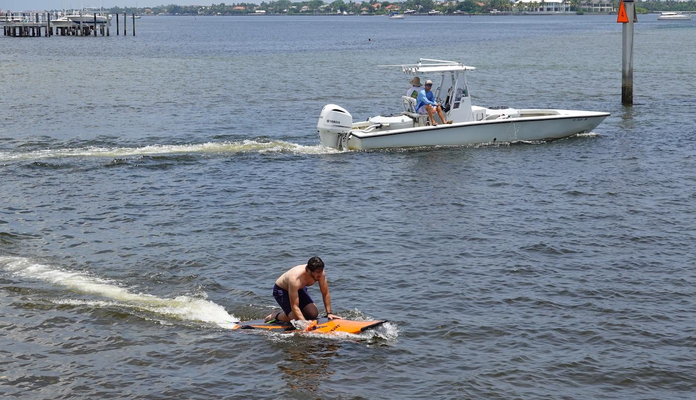 yujet electric surfboard