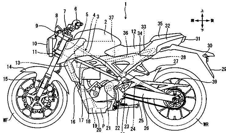 electric honda cb125r motorcycle