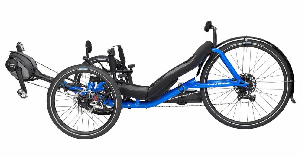 catrike ecat electric recumbent tricycle