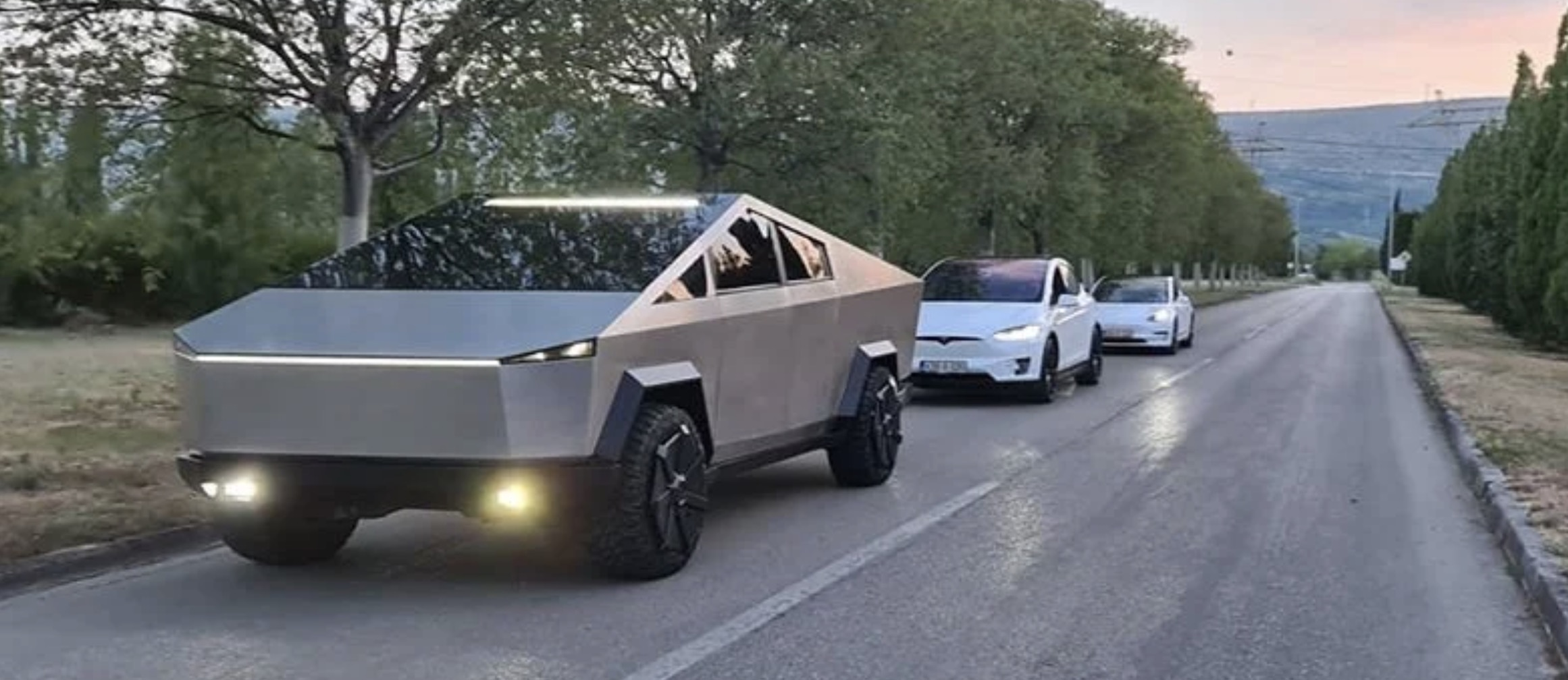 Tesla Cybertruck electric pickup working replica looks insanely good inside and out - Electrek