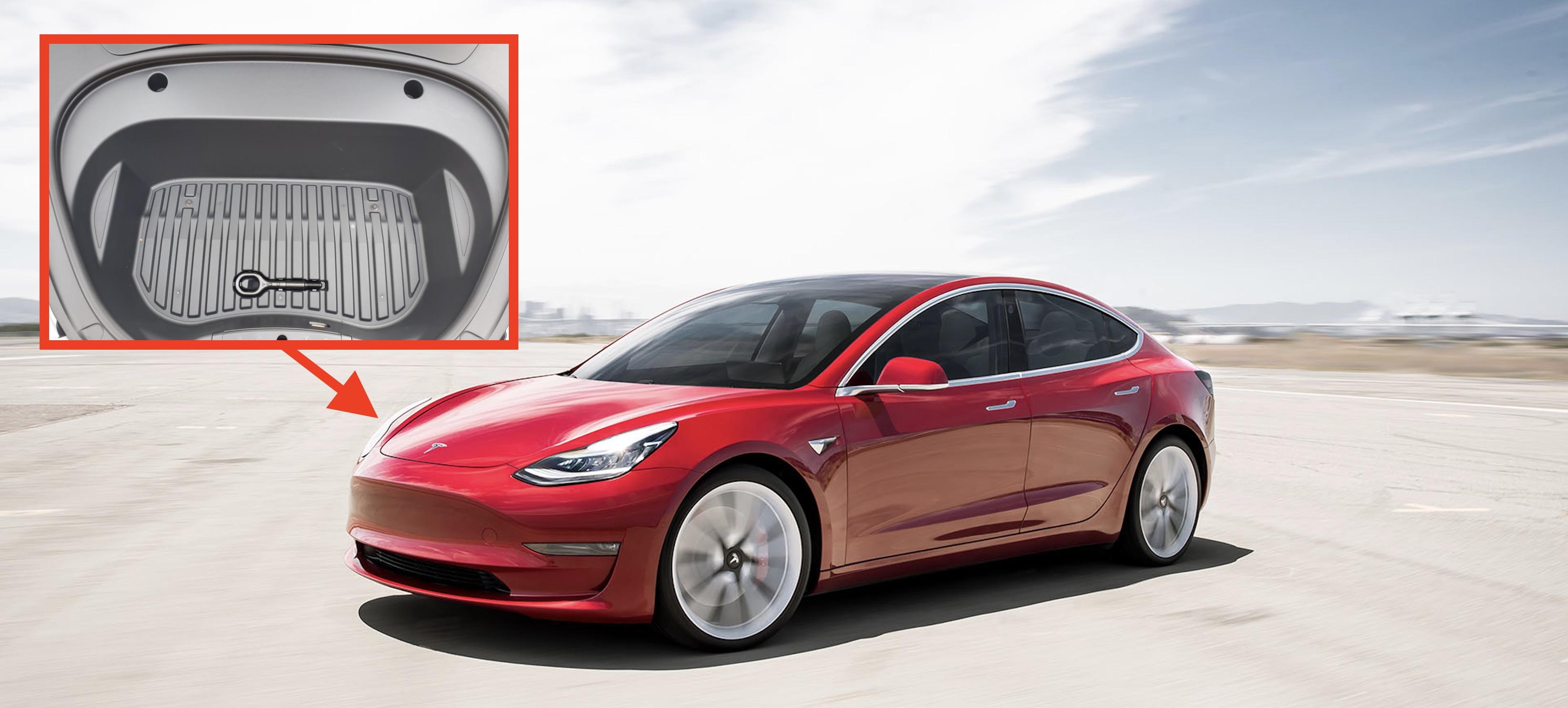 Tesla updates Model 3 frunk, makes it a bit smaller — but ...