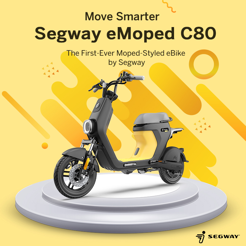 segway c80 electric moped
