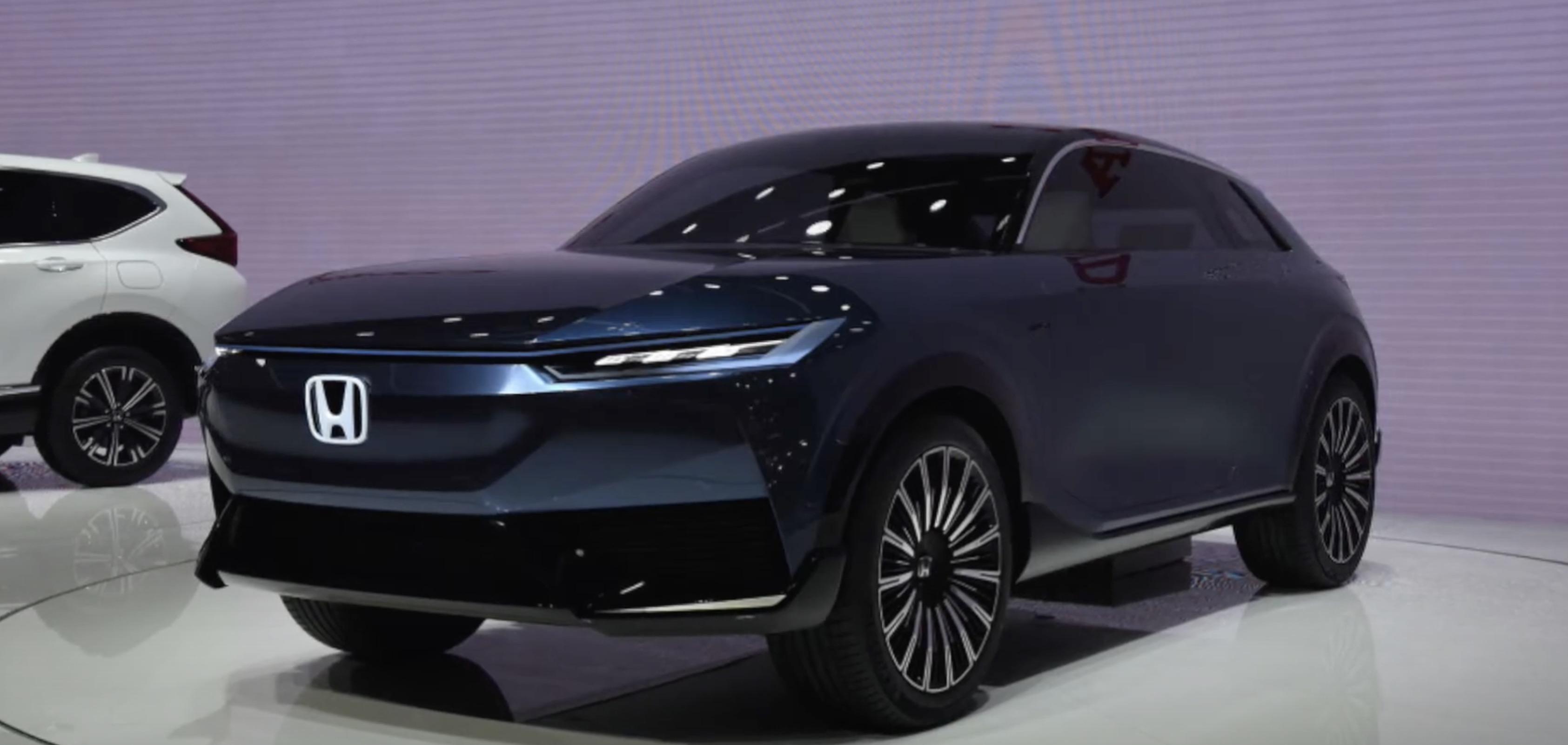 Honda Unveils Sleek New Electric Suv Concept Showing Future Mass Production Model Trend Electrek