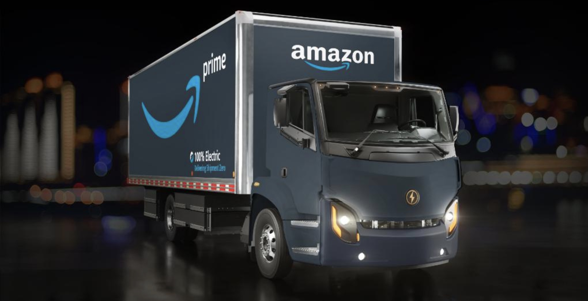 photo of Amazon buys 10 electric trucks from Lion Electric image