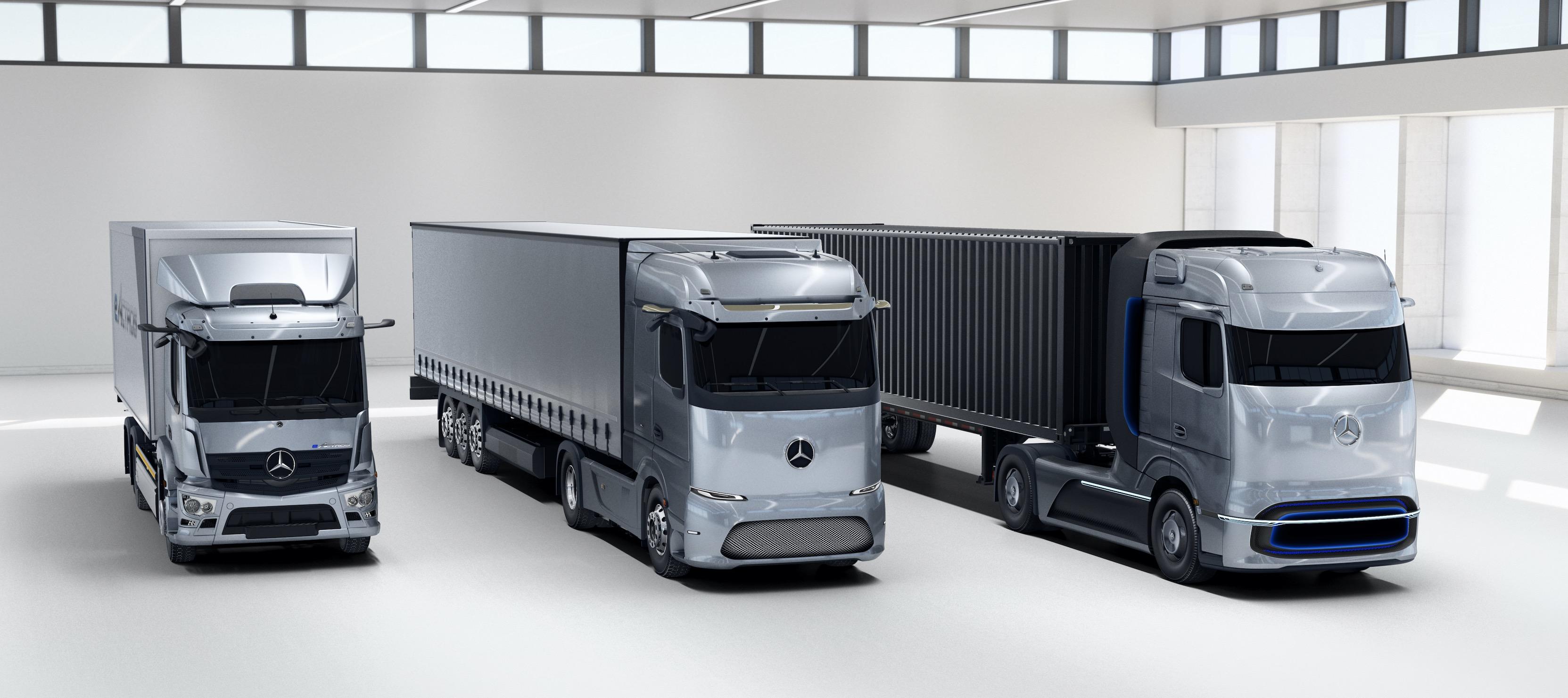 Mercedes-Benz unveils eActros LongHaul electric truck and concept fuel... image