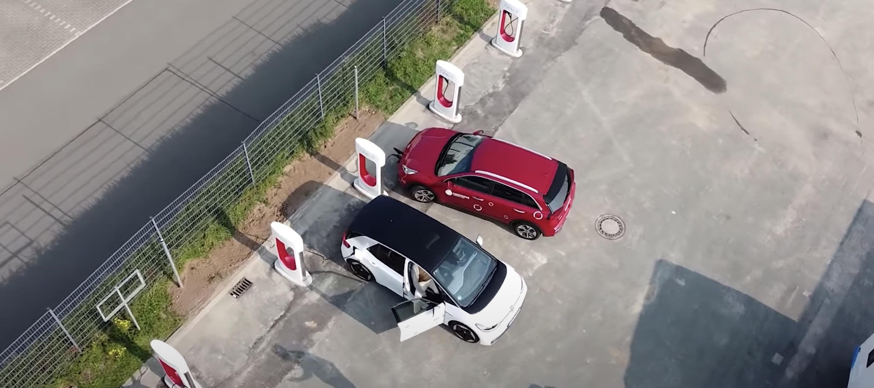 VW заряжаются на Суперчарджере