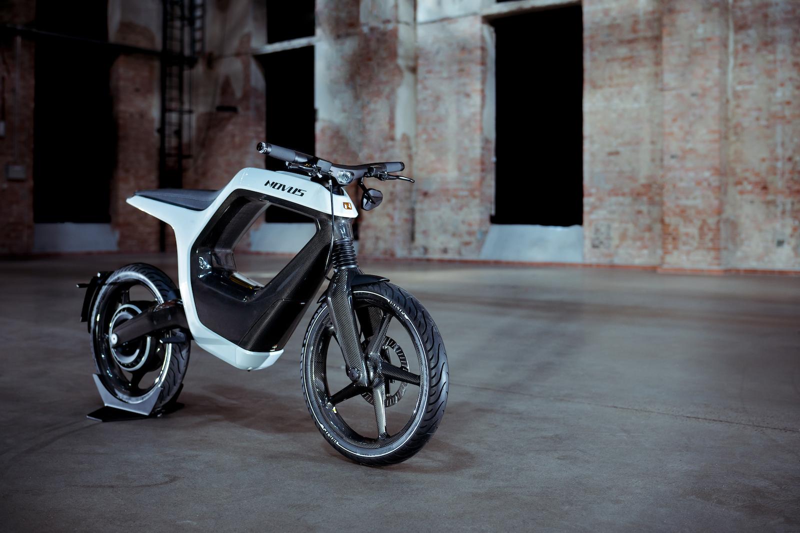 novus electric motorcycle