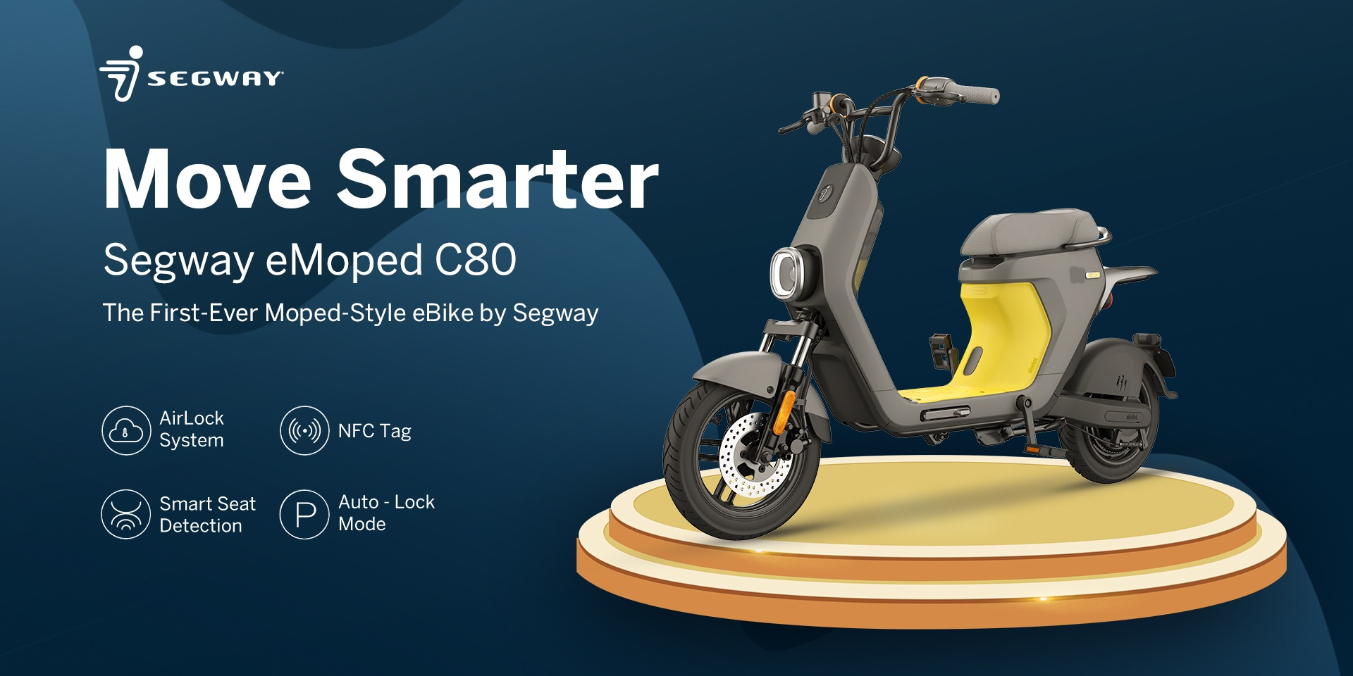 Segway just launched this affordable 50-mile range electric moped in the US