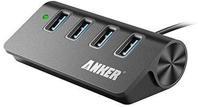 Anker 4-Port USB 3.0 Unibody Aluminum Portable Data Hub